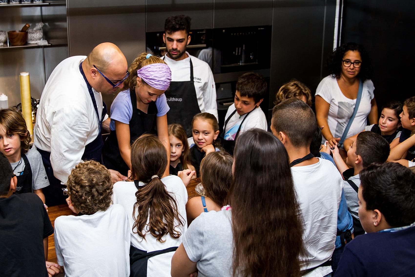 האקדמיה הקולינרית של בולטהאופ - סדנת בישול לילדים